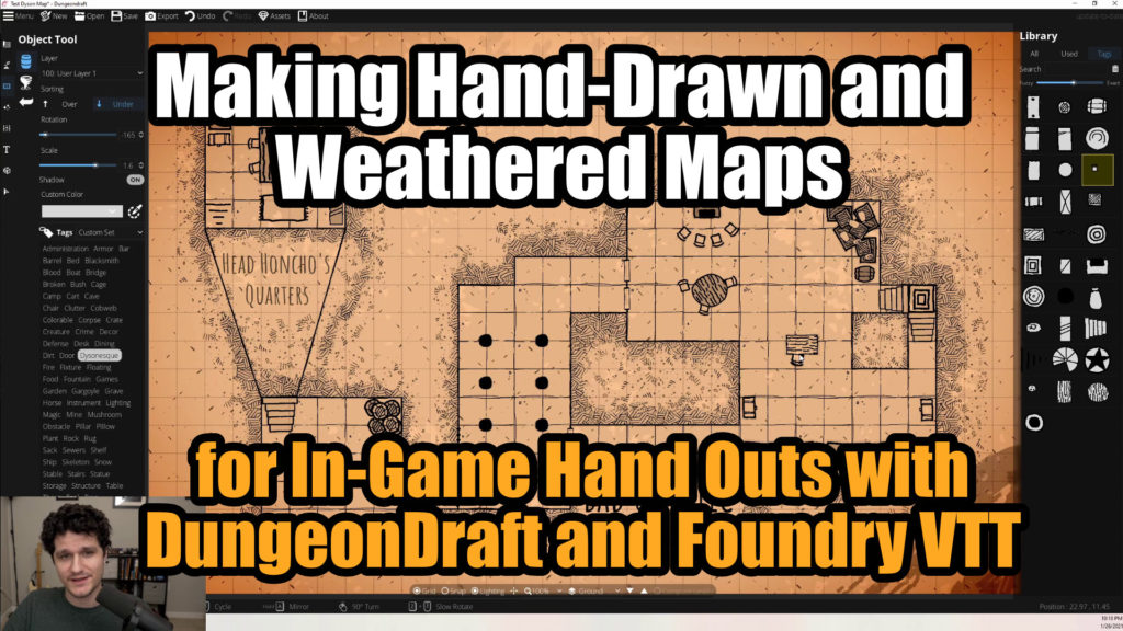 Making Hand-Drawn and Weathered Maps Thumbnail