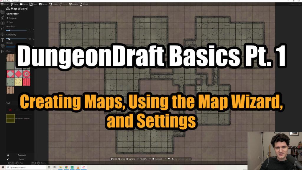 DungeonDraft Basics Part 1 Thumbnail