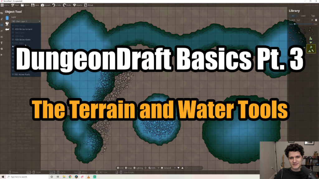 DungeonDraft Basics Part 3 Thumbnail