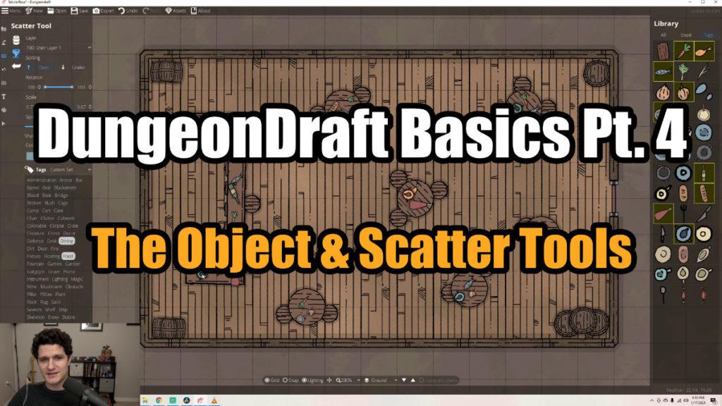DungeonDraft Basics Part 4 Thumbnail