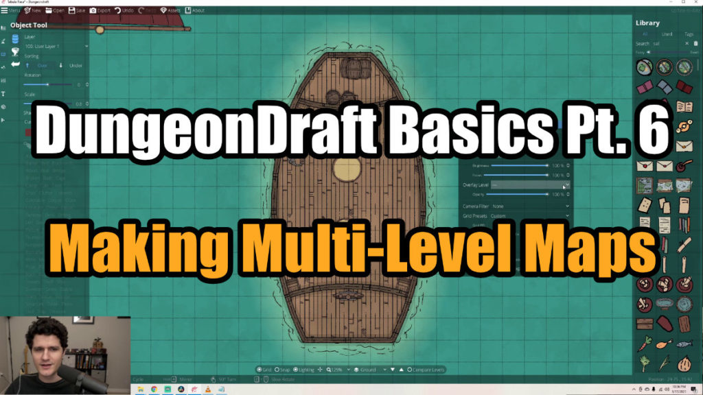 DungeonDraft Basics Part 6 Video Thumbnail
